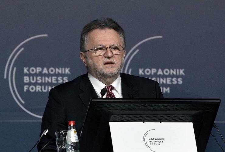 Kopaonik biznis forum, Aleksandar Vlahović, Dušan Vujović