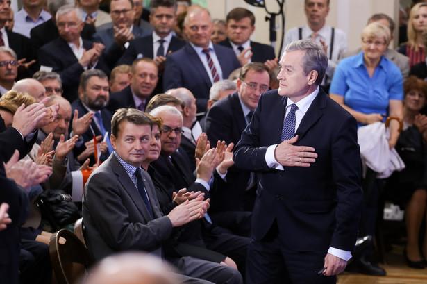 Konwencja zjednoczeniowa PiS. Fot. PAP/Paweł Supernak