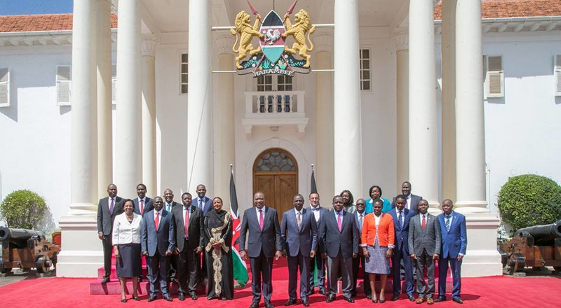 Uhuru's CS who once topped the country in end of high school examinations