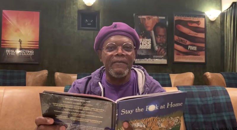 Samuel L. Jackson Wants You to 'Stay the F*** at Home'