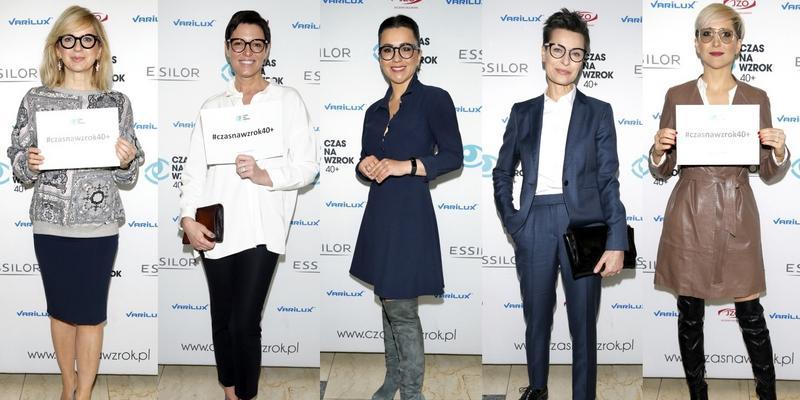 Stenka, Tadla, Steczkowska, Rogalska i Felicjańska w okularach