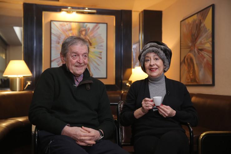MArko Nikolić i Svetalana Bojković