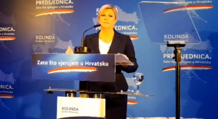 Kolinda Grabar Kitarović skrinšot