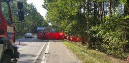 Tragiczny wypadek pod Nieporętem. Nie żyje trzyosobowa rodzina