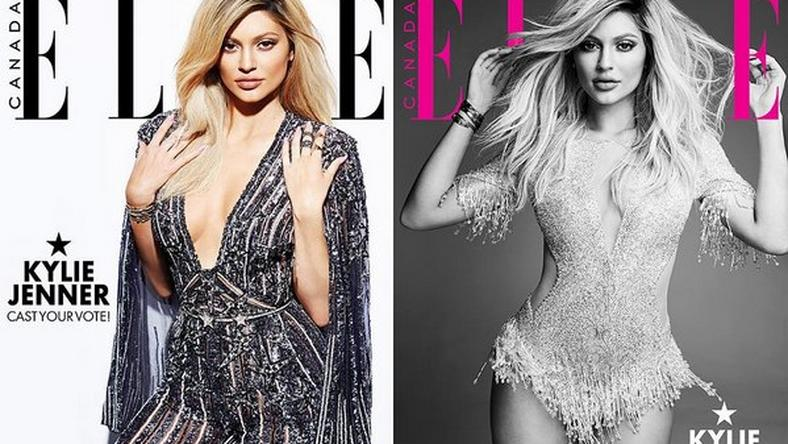 Kylie Jenner is the cover girl for Ella Magazine Canada December issue