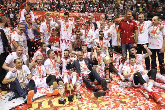 Košarkaši Crvene zvezde