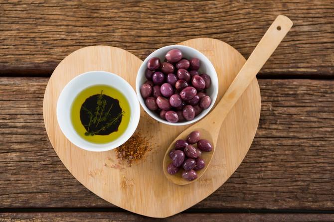 Maslinovo ulje za krvni pritisak i miran stomak