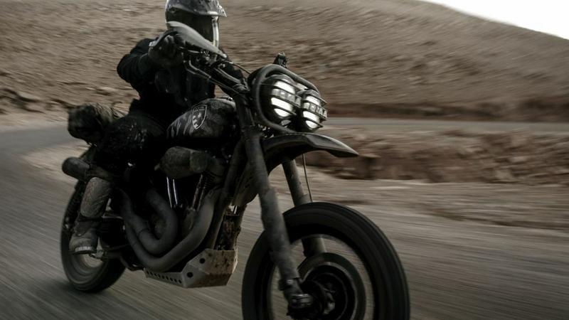 Harley-Davidson 1200 Roadster w wersji off-road