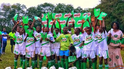 Milo U-13 Champions League: Nkawkaw Methodist Primary crowned Zone 4 champions