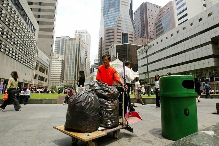 singapur čišćenje