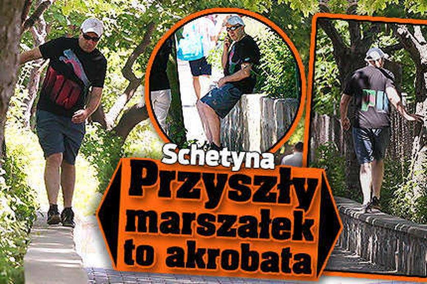 Grzegorz Schetyna: Przyszły marszałek to akrobata