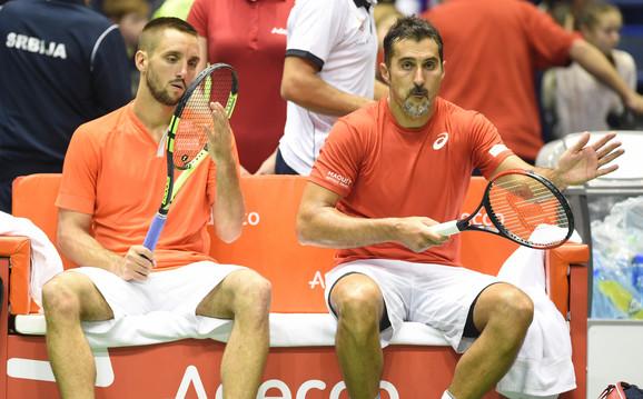 Viktor Troicki i Nenad Zimonjić