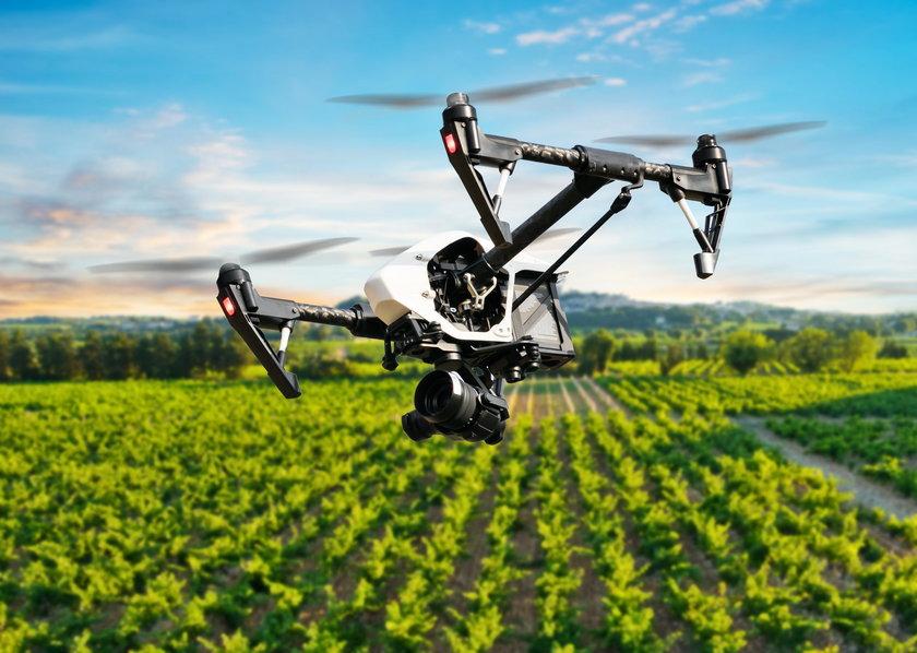 Drony w rolnictwie