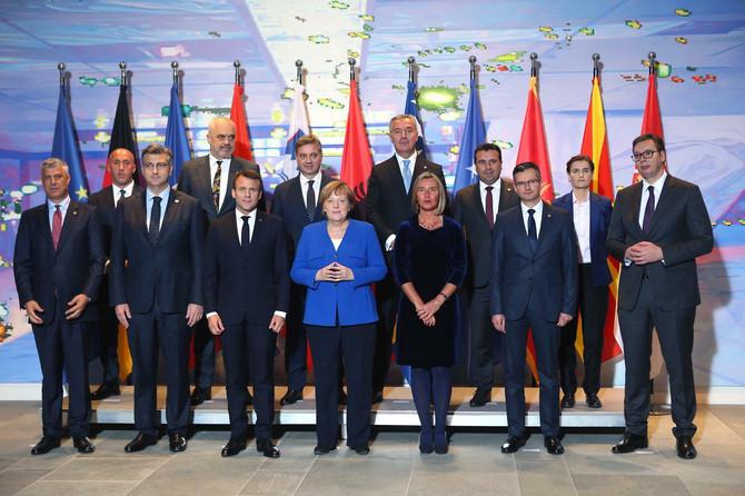 Politički zvaničnici na Samitu u Berlinu