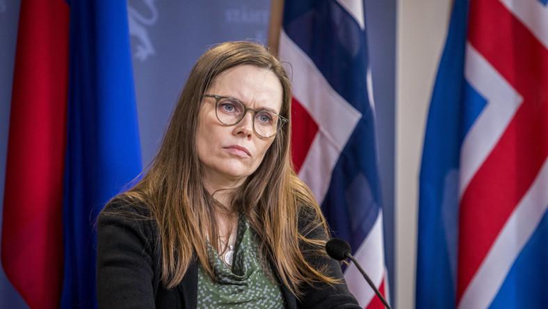 Premier Islandii Katrin Jakobsdottir