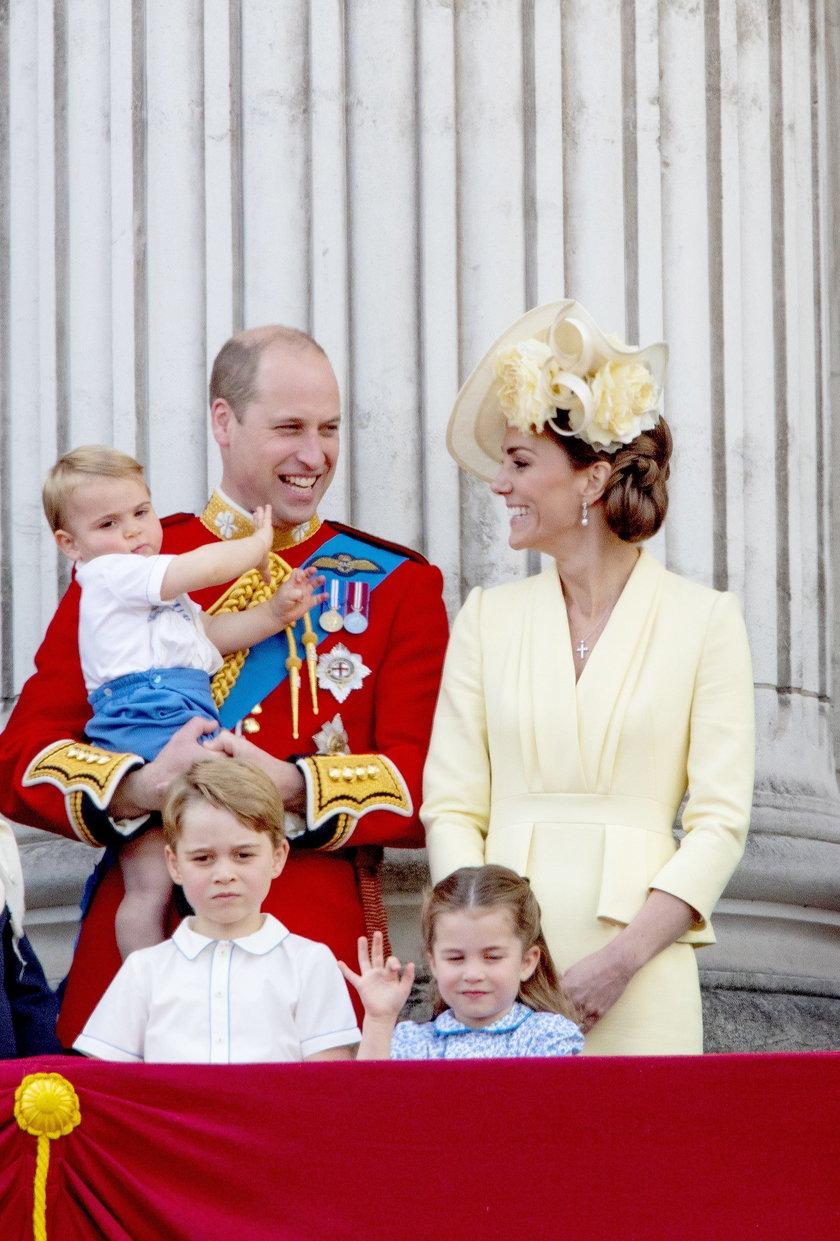 Znamy pierwsze słowa księcia Louisa. Były zaskakujące!