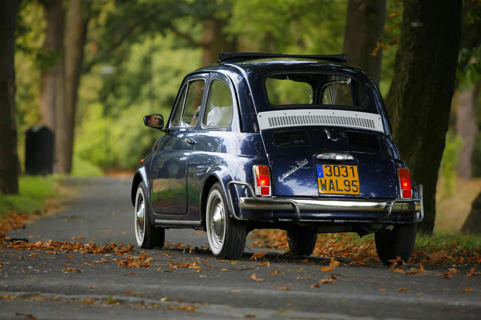 Fiat 500 - happy birthday to you!