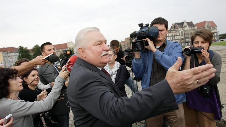 Wałęsa odznaczony Złotą Kurą