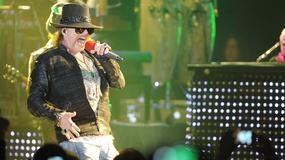 Guns n' Roses na szczycie w Polsce