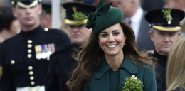 Księżna Kate cała w zieleni