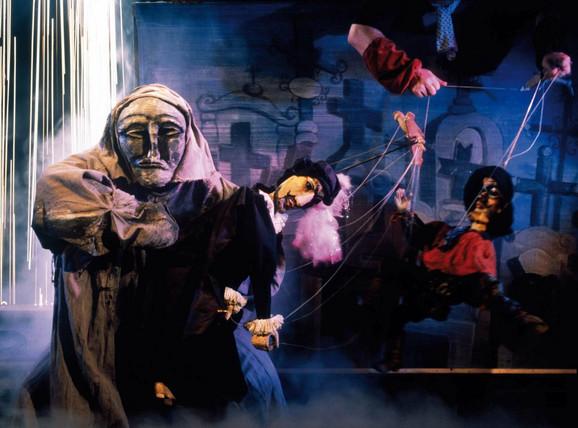 """Iz lutkarske opere """"Don Đovani"""" koju 23. oktobra na sceni Narodnog pozorišta """"Raša Plaović"""" izvodi Nacionalno lutkarsko pozorište iz Praga"""