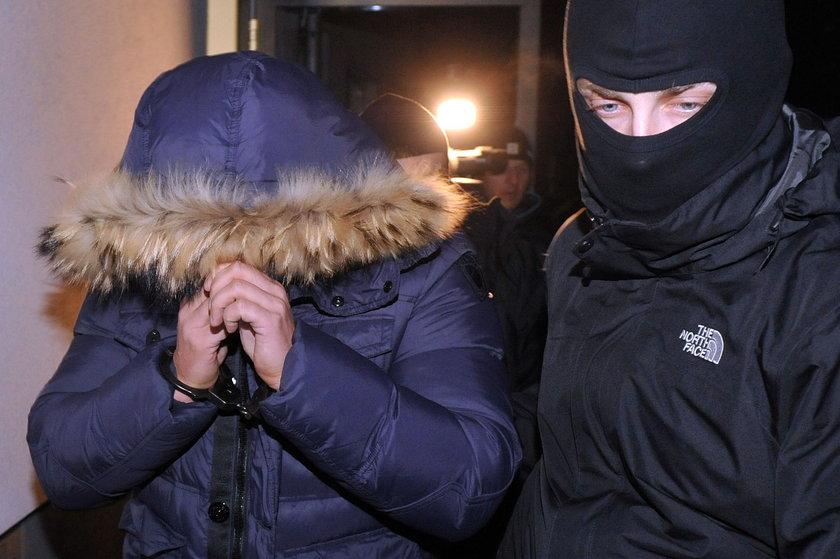 Ochroniarze chcą wyjść z aresztu
