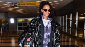 Rihanna w Londynie. Co ona na siebie włożyła?
