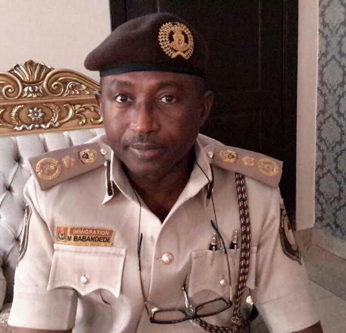 Comptroller-General of Nigeria Immigration Service (NIS), Muhammad Babandede
