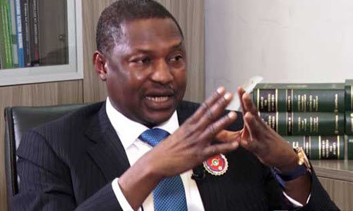 Attorney-General of the Federation and Minister of Justice Abubakar Malami.  (TheNigerialawyer)