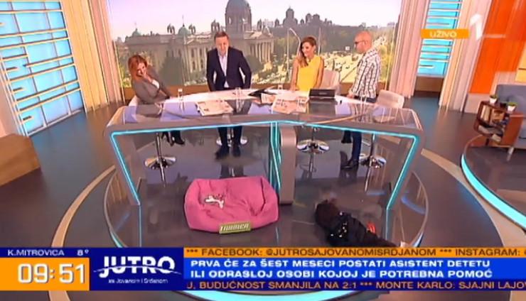 Jutarnji program, Prva televizija