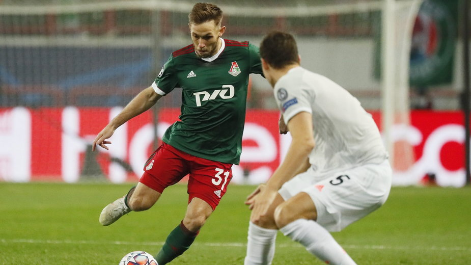 W meczu Ligi Mistrzów z Bayernem Monachium Maciej Rybus zapoczątkował akcję, po której Lokomotiw zdobył bramkę.