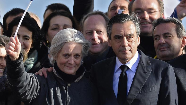 Francois i Penelope Fillon