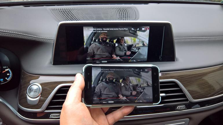 Screen Mirroring w BMW z telefonu Asus Zenfone 3