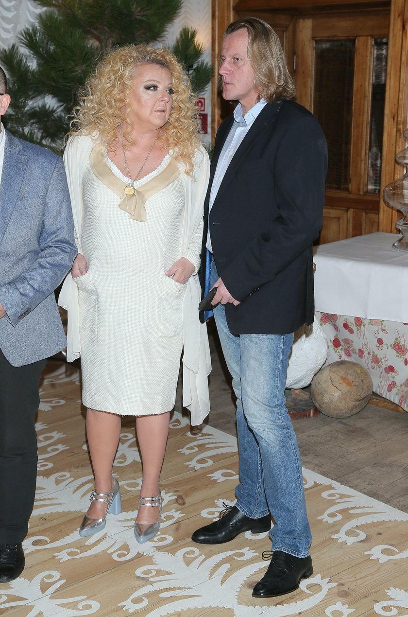 Magda Gessler i Jacek Lotycz