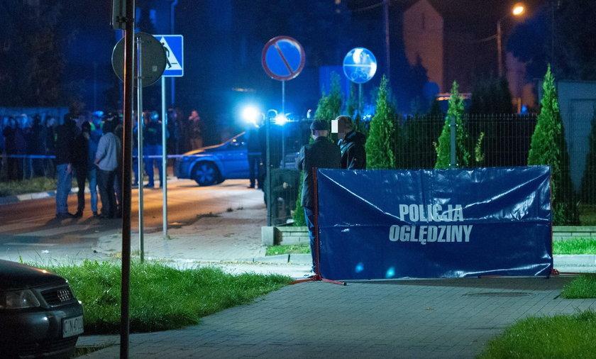 Strzelanina w centrum Poznania. Napastnik wyrwał broń