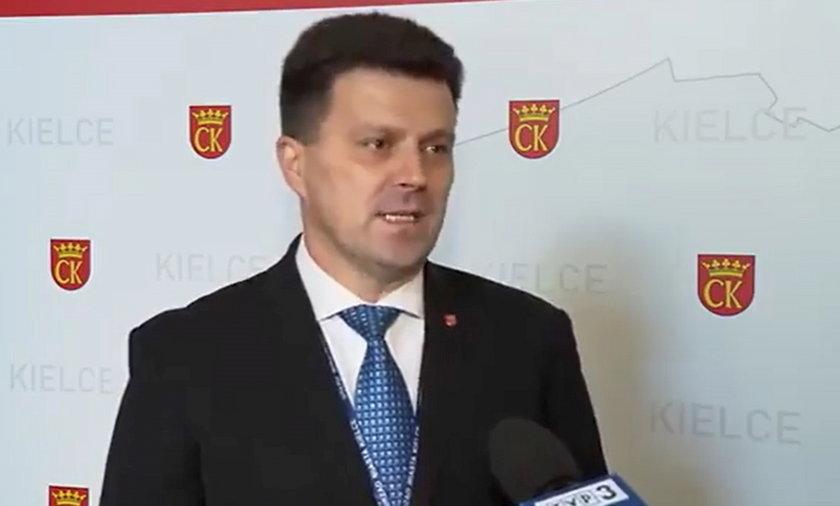 Szczepan Skorupski - urzędnik z Kiec. Oto jego wypowiedź dla TVP 3 Kielce