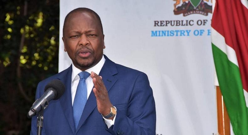 CS Mutahi  Kagwe