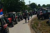 Traktoristi protest protiv poskupljenja goriva