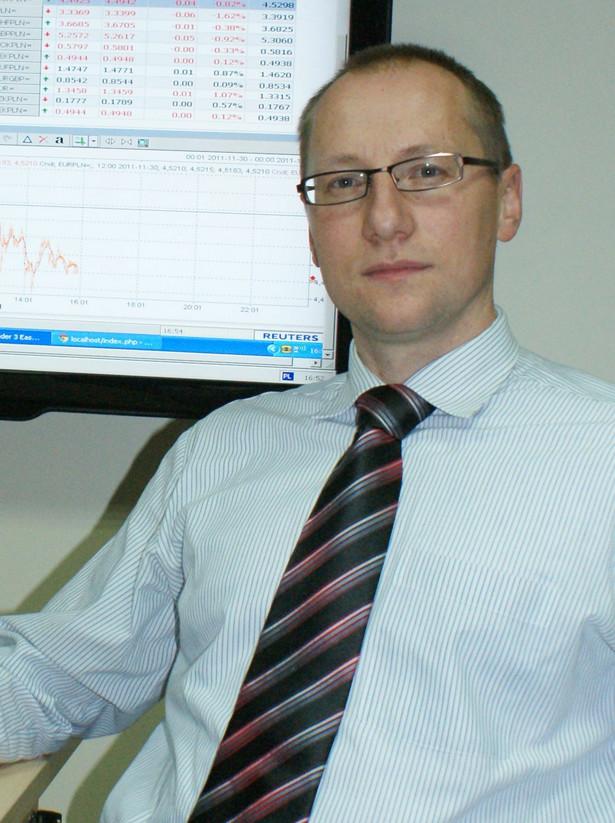 Damian Papała, ekspert walutowy KantorOnline.pl