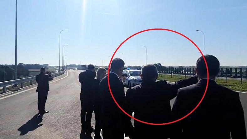 Pierwsze samochody na nowym odcinku drogi ekspresowej S7 Widoma-Szczepanowice