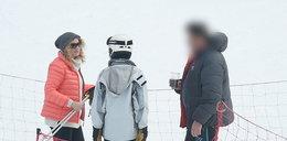 Joanna Trzepiecińska na nartach
