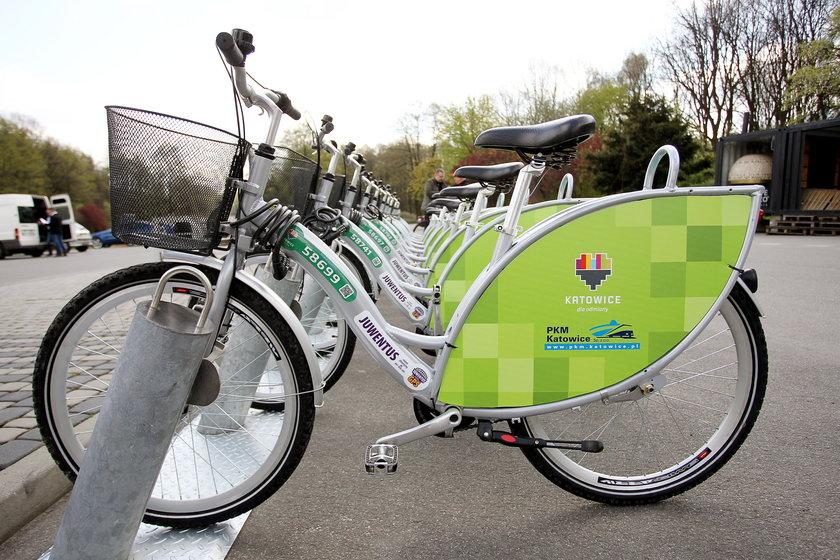 Otwarto wypożyczalnię rowerów w Katowicach