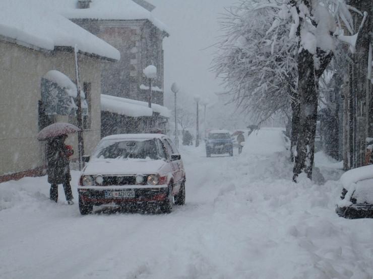 Sneg u Kolašinu (FOTO:Vijesti)