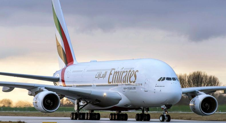 Emirates Airlines. (twitter)