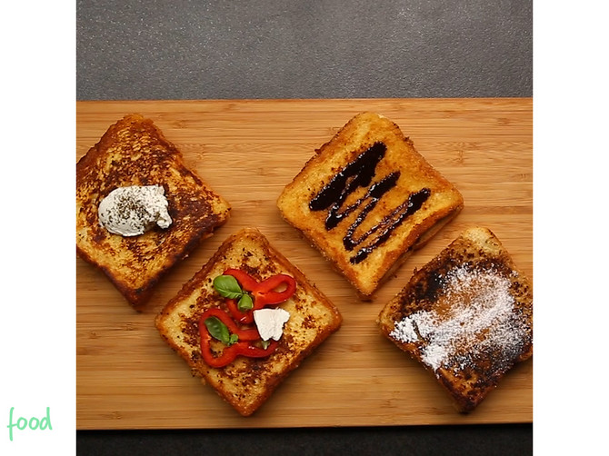 Savršene prženice na 4 načina! Samo treba da odlučite da li ste za slane ili slatke!