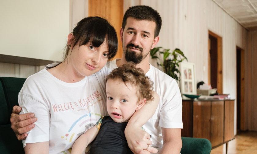 Życie naszego dziecka kosztuje 6 mln zł. Błagamy o pomoc - mówią rodzice 3-letniego Kajetana