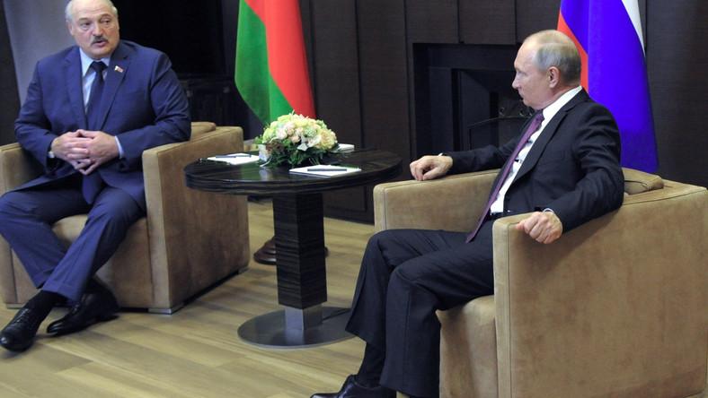 Łukaszenka i PutinDostawca: PAP/EPA.