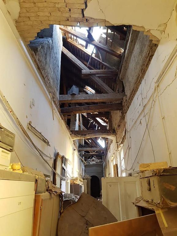 Muzej nakon zemljotresa