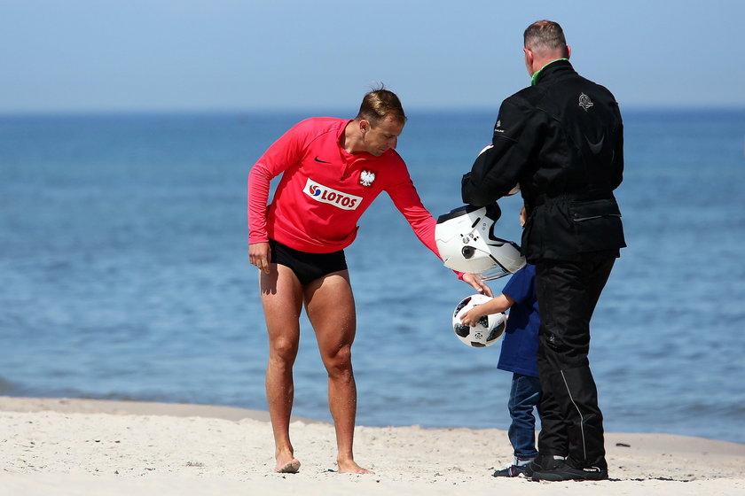 Polscy piłkarze na zgrupowaniu w Juracie
