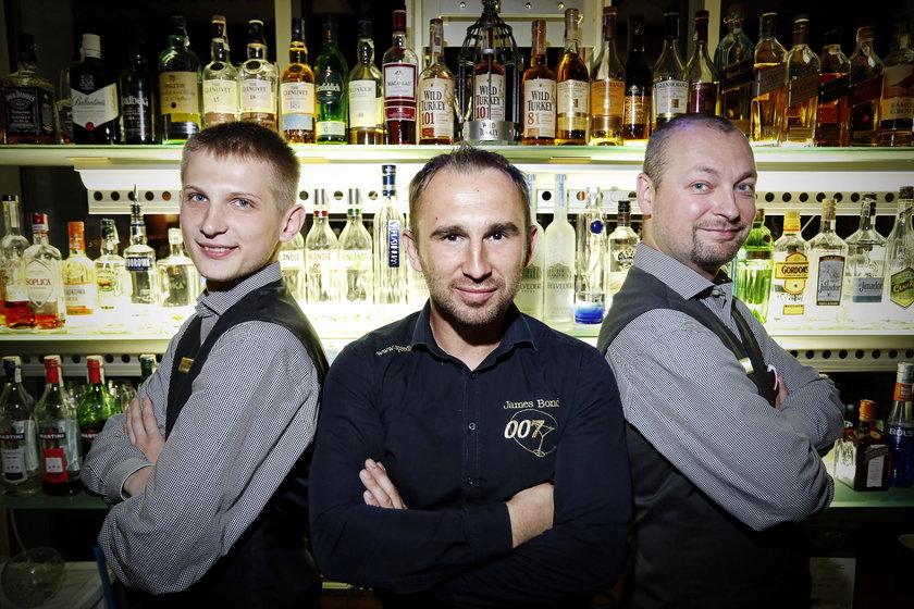 James Bond wśród barmanów